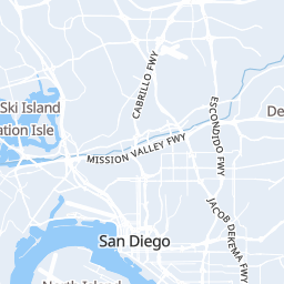 San Diego Surf Report & Forecast - Map of San Diego Surf