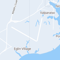 Destin Map on
