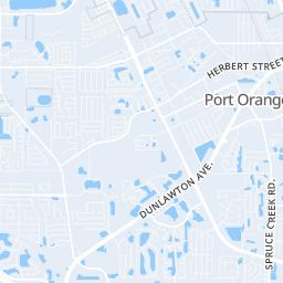 Daytona Beach Map on