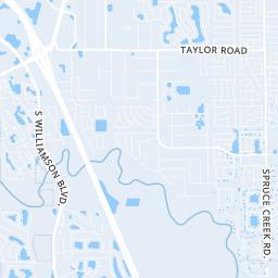 Daytona Map on