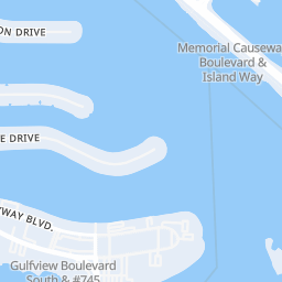 Clearwater Surf Report & Forecast - Map of Clearwater Surf
