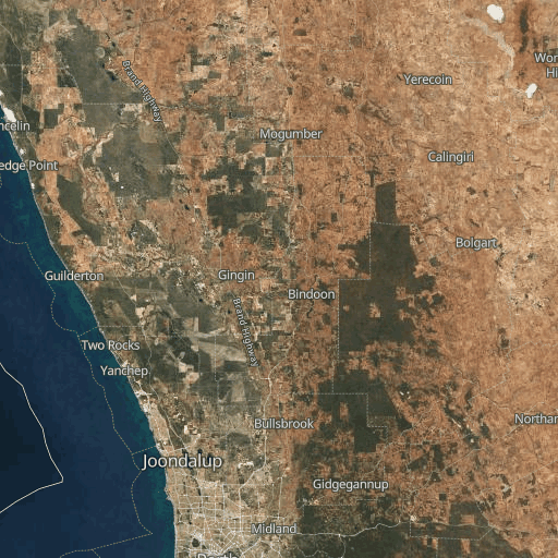 Map Of Western Australia 26th Parallel.Perth Surf Reports And Surfing
