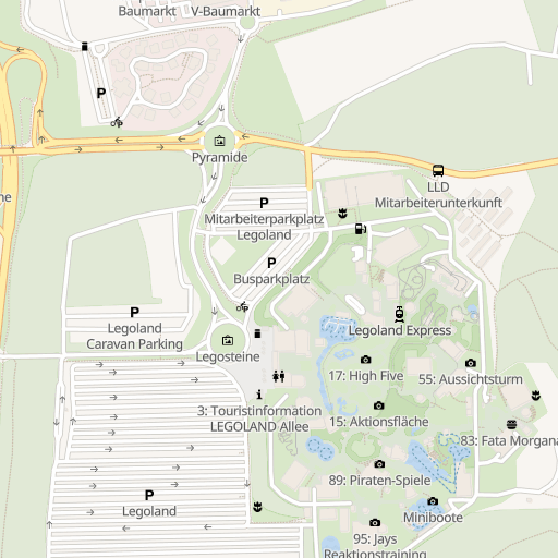 V Markt Baumarkt Nähe Legoland Günzburg Deutschland 1019