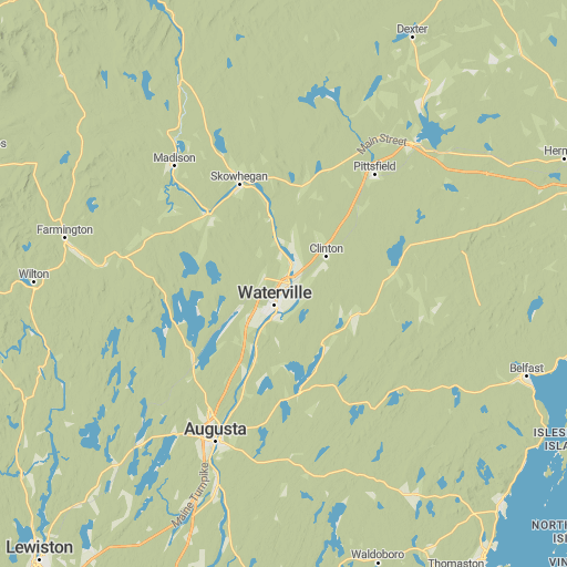 Map Of New England 4000 Footers.New England 4000 Footers Map