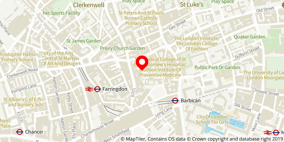 Map of The Charterhouse