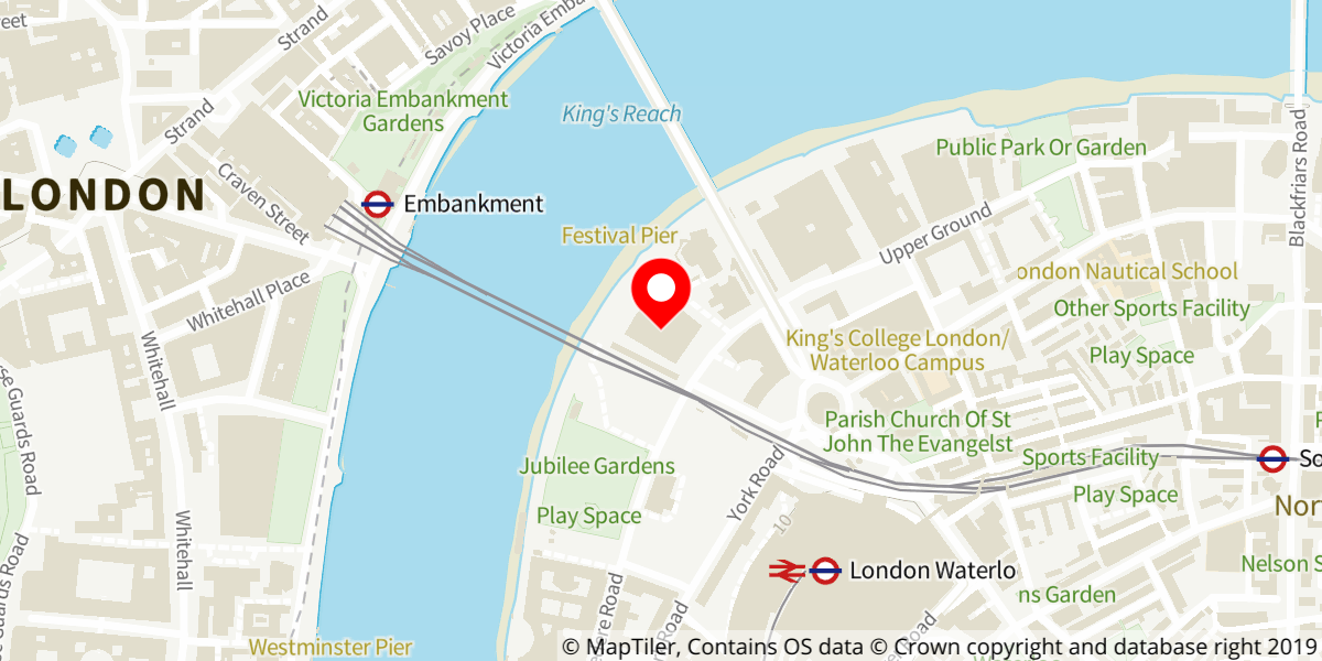 Map of Southbank Centre