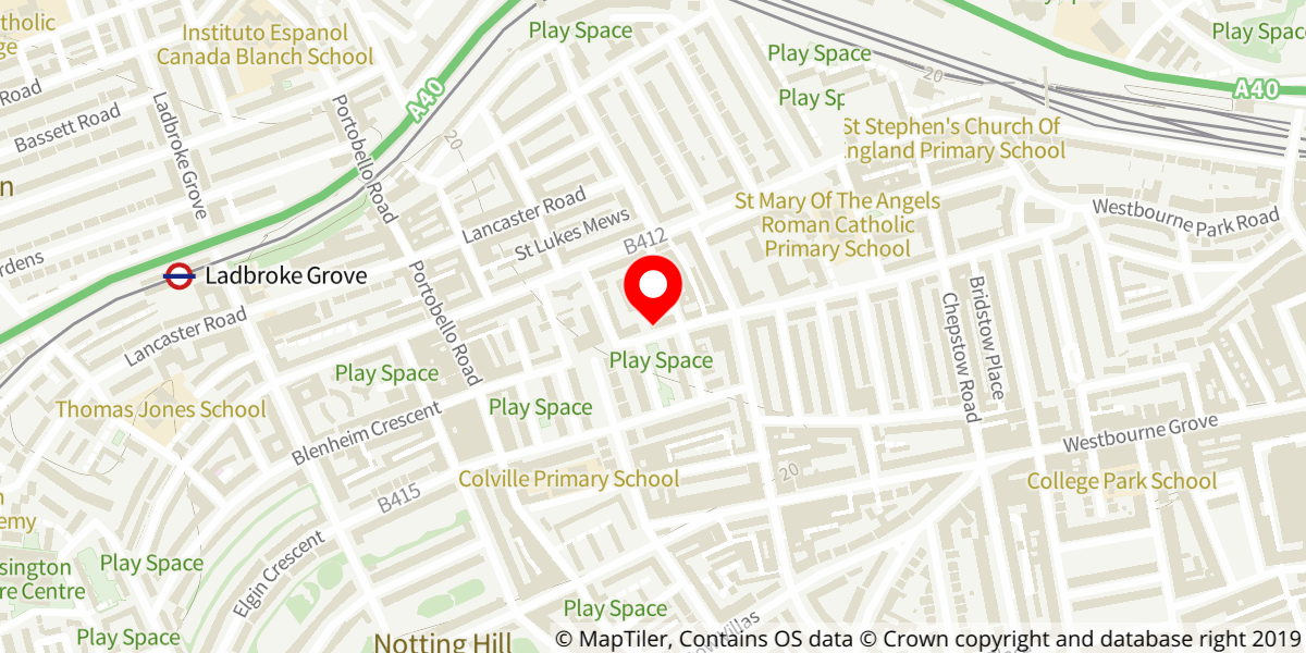 Map of Grenfell: Value Engineering at The Tabernacle